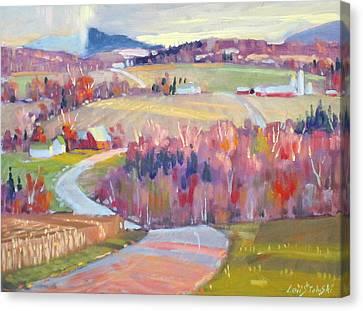 Upstate N Y Canvas Print