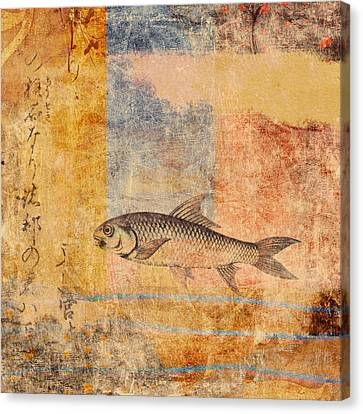 Upstream Canvas Print by Carol Leigh