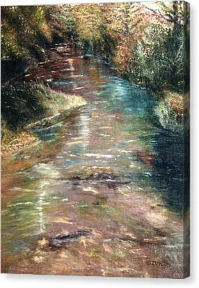 Upstream Canvas Print