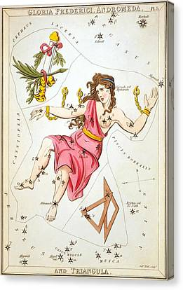Gloria Frederici Andromeda Canvas Print