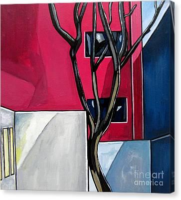 Urban 1 Canvas Print by Sandra Marie Adams