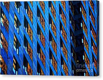 Urban Abstract 4 Canvas Print by Jim Wright