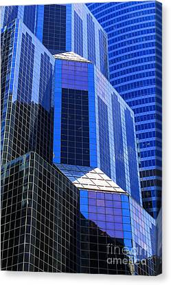 Urban Abstract 5 Canvas Print by Jim Wright