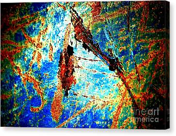 Canvas Print featuring the photograph Urban Abstract by Christiane Hellner-OBrien