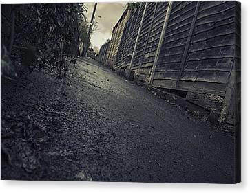 Canvas Print featuring the photograph Urban Alley  by Stewart Scott