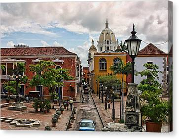 Urban Architecture Of Cartagena Canvas Print