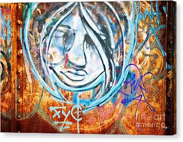 Urban Art Canvas Print by Scott Pellegrin