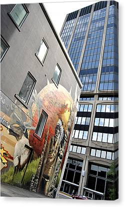 Urban Cheaf Canvas Print by Frederico Borges