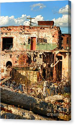 Urban Decay Canvas Print by HD Connelly