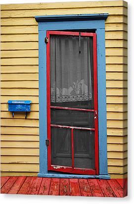 Urban Doorway Canvas Print by Steven Michael