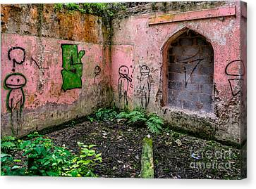 Urban Exploration Canvas Print by Adrian Evans