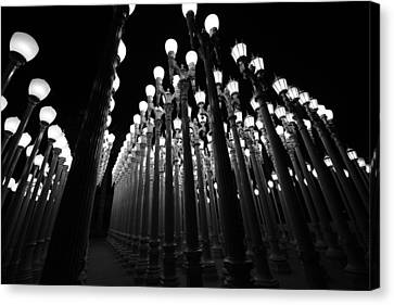 Urban Lights       Canvas Print