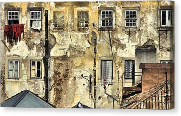 Urban Lisbon Canvas Print