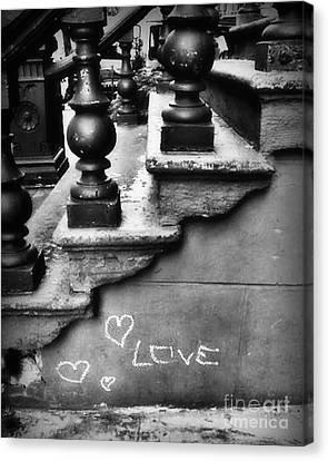 Urban Love Canvas Print by Miriam Danar