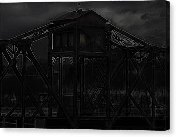 Urban Metal Canvas Print by Thomas Young