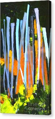 Urban Reach Canvas Print by Susan A Becker