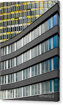 Urban Rectangles Canvas Print by Hannes Cmarits