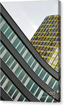 urban rectangles III Canvas Print by Hannes Cmarits