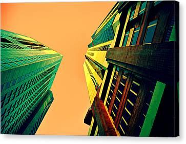 Urban Sky Canvas Print by Andrei SKY