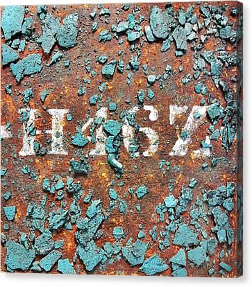 Ruin Canvas Print - Urban Typography Piece #2 by Conor O'Brien