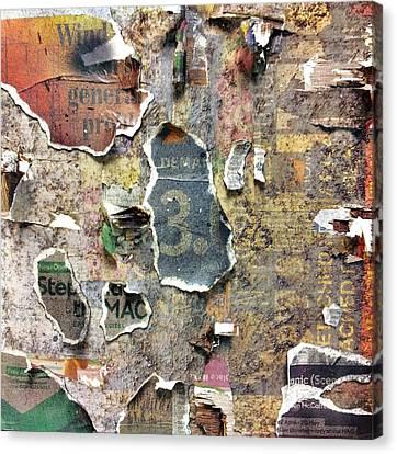 Ruin Canvas Print - Urban Typography Piece #5 by Conor O'Brien