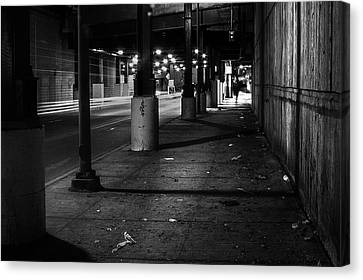 Urban Underground Canvas Print by Scott Norris
