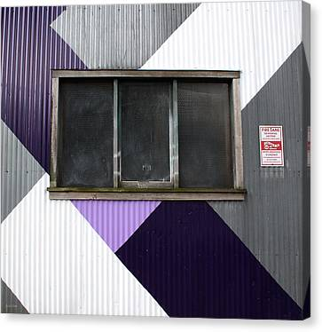 Urban Window- Photography Canvas Print