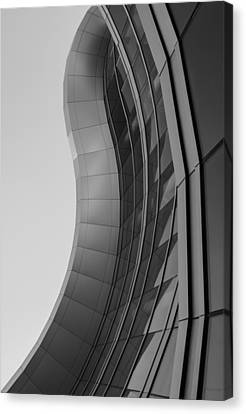Canvas Print featuring the photograph Urban Work - Abstract Architecture by Steven Milner