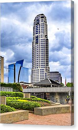 Urbania - Atlanta Buckhead Skyline Canvas Print