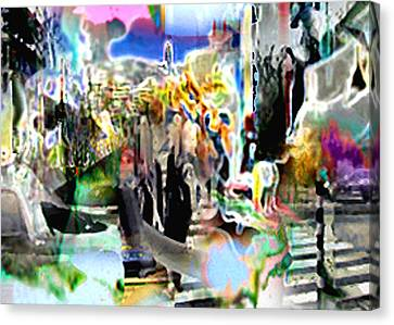 Urbansmeet Canvas Print
