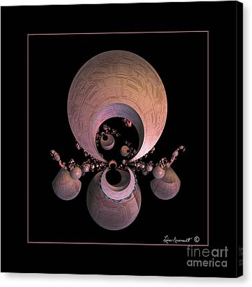Urns Canvas Print by Leona Arsenault