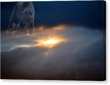 Ursa Major  -  Great Bear Canvas Print by Kevin Bone