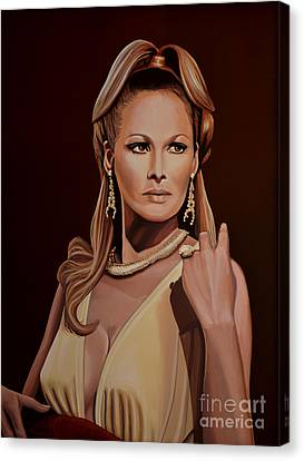 Ursula Andress Canvas Print by Paul Meijering