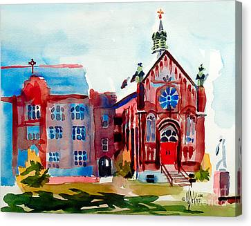 Ursuline Academy Arcadia Missouri Canvas Print by Kip DeVore