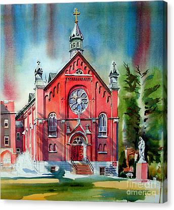 Ursuline Academy Sanctuary Canvas Print by Kip DeVore