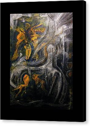 Ursuppe - Primeval Soup Canvas Print by Mimulux patricia no No