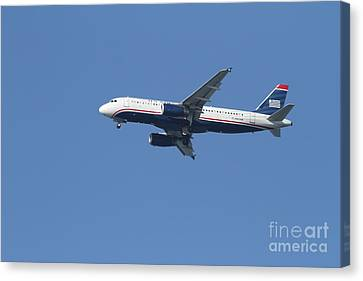 Us Airways Jet 7d21945 Canvas Print by Wingsdomain Art and Photography