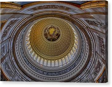 Us Capitol Rotunda Canvas Print