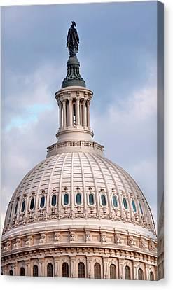 Us Capitol, Washington Dc Canvas Print