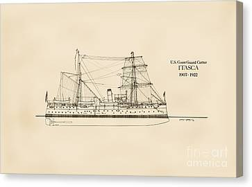 U. S. Coast Guard Cutter Itasca Canvas Print by Jerry McElroy - Public Domain Image