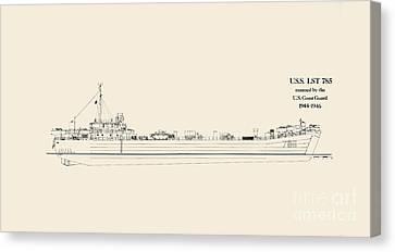U S  L S T 785 Canvas Print