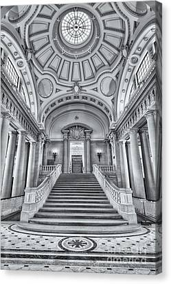 Memorial Hall Canvas Print - Us Naval Academy Bancroft Hall II by Clarence Holmes