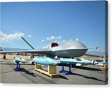 Us Navy Drone Canvas Print by U.s. Navy