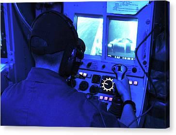Us Navy Mine Neutralisation System Canvas Print by U.s. Navy