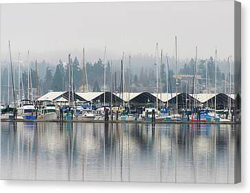 Us, Wa, Kitsap Peninsula Canvas Print by Trish Drury