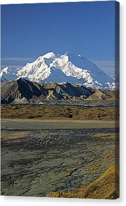 Gerry Canvas Print - Usa, Alaska, Mount Mckinley, Mckinley by Gerry Reynolds