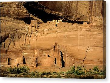 Usa, Arizona, Canyon De Chelly National Canvas Print by Ann Collins
