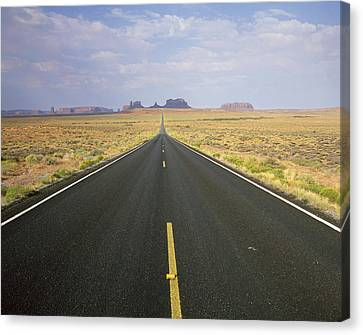 Openair Canvas Print - Usa, Arizona, Monument Valley Navajo by Tips Images