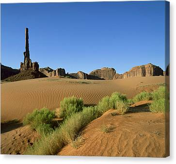 Openair Canvas Print - Usa, Arizona, Moument Valley Navajo by Tips Images