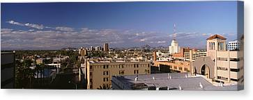 Usa, Arizona, Phoenix, Aerial View Canvas Print by Panoramic Images